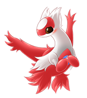 Shy Latias by SymbianL