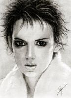 Winona Ryder by tearsinrain