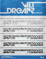 Wet Dreamz Font by Weslo11