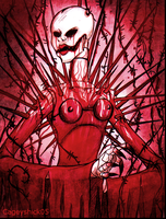 + Spikes-Barbwires-Blood + by Cageyshick05
