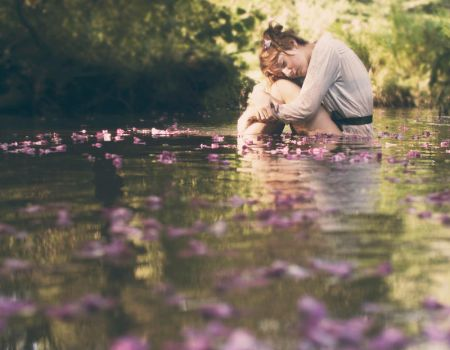 Flowers stream by Snowfall-lullaby
