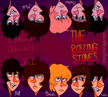 The Rolling Stones by KabouterPollewop