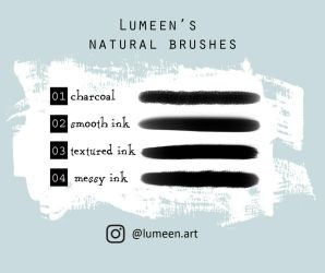 Lumeen's natural brushes by Lumeen-art