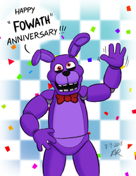 FOWA Years of FNAF by RetroUniverseArt