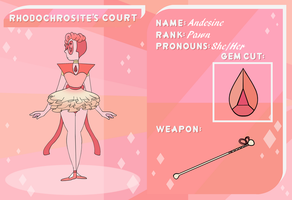 Rodochrosite's Court application - Andesine by Dorothy-in-oz