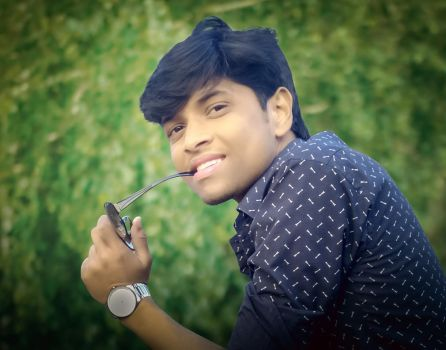 New profile creation with sunglass by eftherhossain