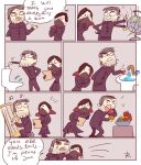 dishonored 2, doodles 1 by Ayej