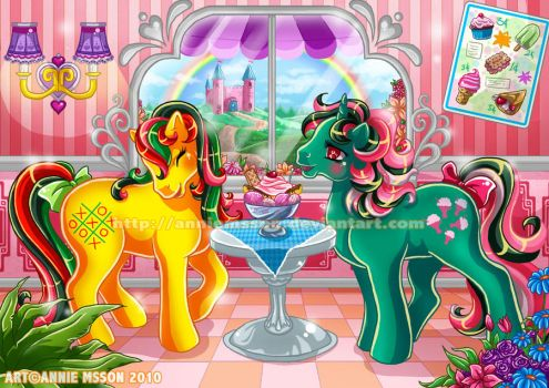 MLP Cafe by AnnieMsson