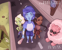 the new crystal gems by yuesli
