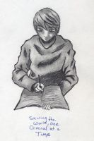 Raito with Death Note by nekozikasilver1