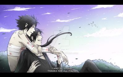 Uchiha.. forever brothers by Kibbitzer