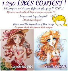 1250 LIKES CONTEST in Facebook by Suki-Manga