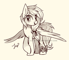 Dry Pastelle Sketch  {Contest Prize} by Fayven