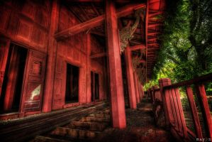 hdr - the red patio by mayonzz