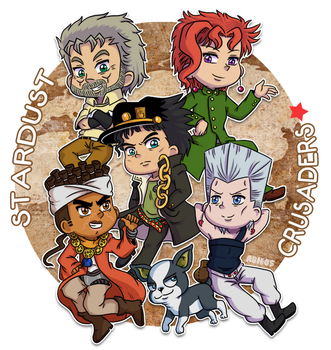 JJBA: Stardust Crusaders by Abie05