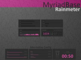 Myriad Base Rainmeter by AlbinoAsian