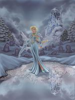 FROZEN -- Dark Elsa by resa-challender