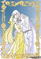 Silver millenium Couples MK by LadyMako