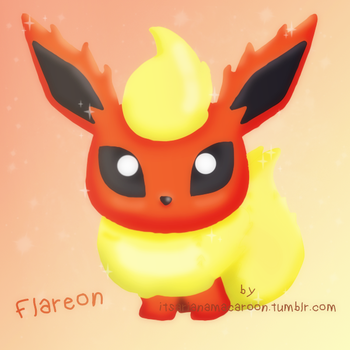 Flareon by NiallsWife