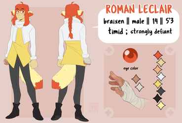 Roman - Reference Sheet by justsnooze