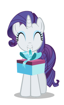 Rarity gift vector. by MasterRottweiler