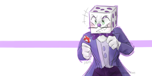 don't mess with King Dice! by MarySpringmountain