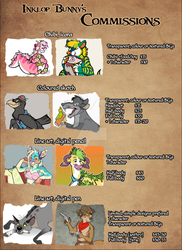 2019 Commission prices