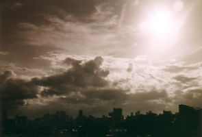 12... Honolulu Cloudscape by seraphinx