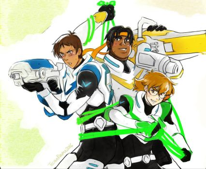 Voltron by TechnoRanma