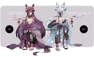 [CLOSED]|Adoptables Auction| HANAWO closed species by Rhe-Adopts