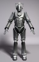 Next Gen Cyberman by DarkAngelDTB