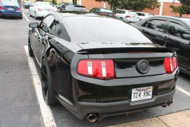 Black Ford Mustang by MisterEclipse