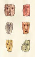 Moleskine 012. If trees had faces by teamoth