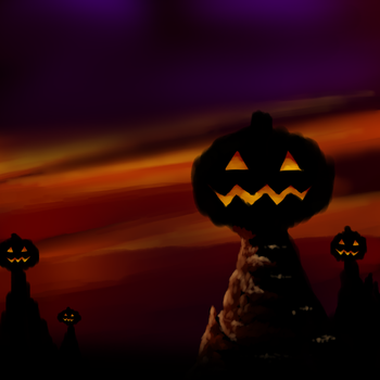 Pumpkin Hill Doesn't have hills.... by Ashman718