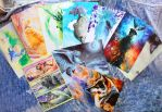 set of postcards for sale by zarielcharoitite