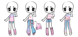 Outfit Adopts CLOSED by MaiaSadoptsNstuff