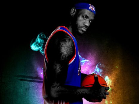 LeBron James All Star Wall by LeBron6