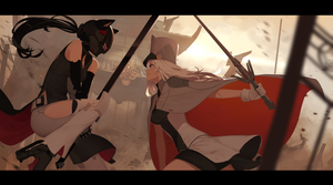 Dance of Black and White by dishwasher1910