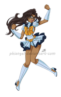 C: ScottyFreefall Senshi - Detroit Justice by PhinyxRose