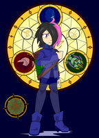 Lore Characters - Keeper of Lore Akina by Dragon-FangX