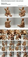 Making baby figurine tutorial 2 by sculptor101