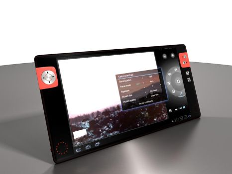 Android 3.0 tablet trial WIP 7 by MandesDesign