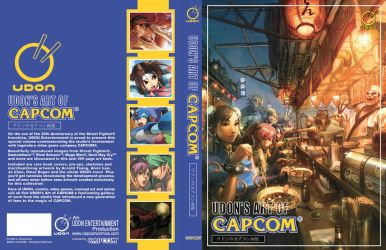 UDON's Art of Capcom Cover by UdonCrew