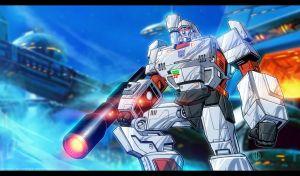 Megatron Animated by Valzonline