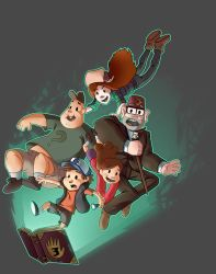 Gravity Falls - Embrace the Fall by Aktheneroth