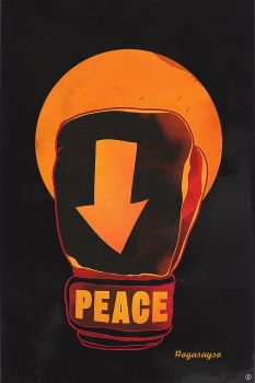 Hands Up Peace by choppre