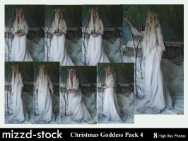 Christmas Goddess pack 4 by mizzd-stock