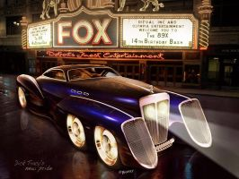 Dick Tracy Car by BarneyHH