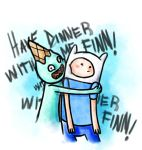 Have dinner with me Finn! by FireDestined4