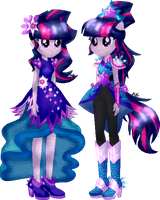 Twilight Sparkle|Everfree|AU EqG by Mairu-Doggy
